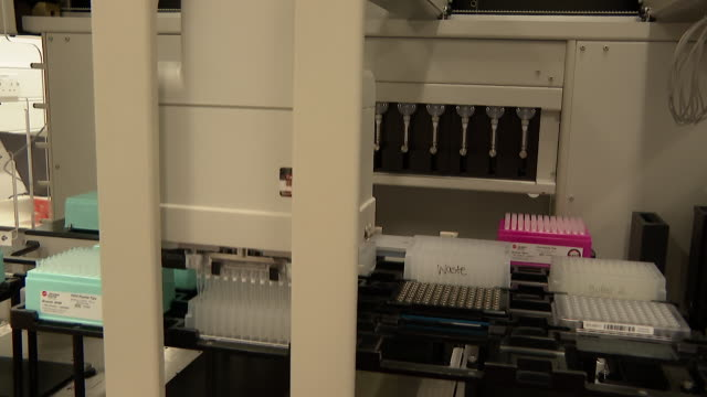 close up coronavirus tests being carried out at francis crick institute in london - laboratory stock videos & royalty-free footage