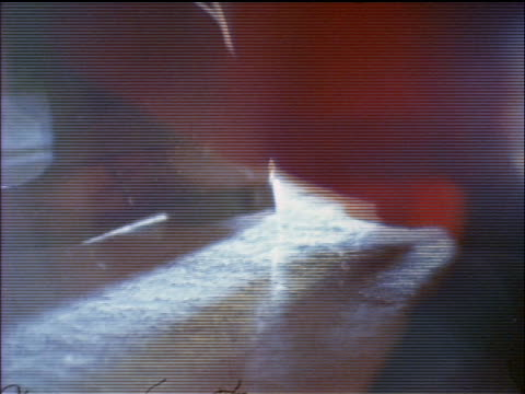 1974 close up crowd of feet dancing on carpet at party indoors / documentary - dress shoe stock videos and b-roll footage