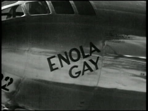 1945 close up Enola Gay fuselage