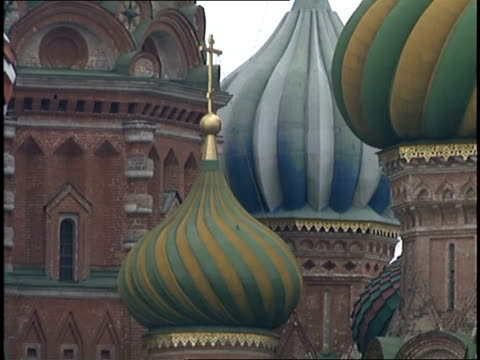 close up exterior shot of the kremlin - moscow russia stock videos & royalty-free footage