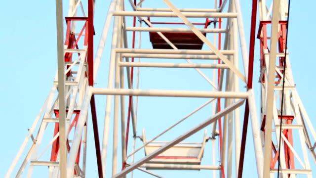 close up ferris wheel - big wheel stock videos & royalty-free footage