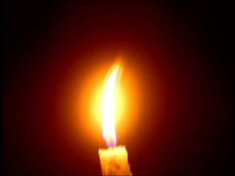 close up hand covering candle as flame is blown out - candle stock videos & royalty-free footage