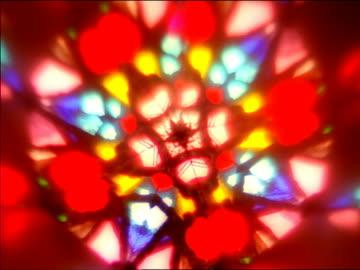 vídeos y material grabado en eventos de stock de close up light filtering through colorful kaleidoscope as pattern changes - psicodélico