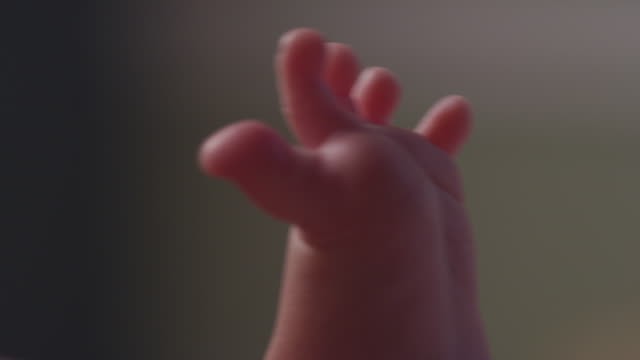 close up little baby toes wiggle in the air. - tickling stock videos & royalty-free footage