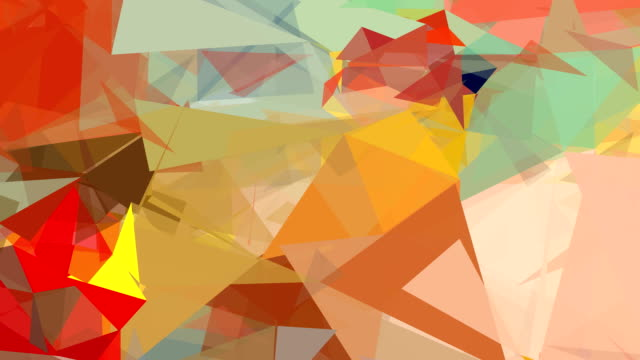 COLORS SAND : close up, low poly style (LOOP)