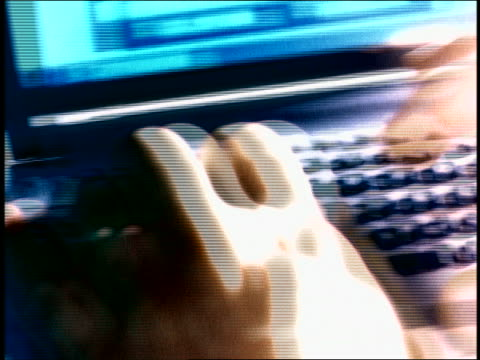 overexposed close up man's hands using personal data assistant - overexposed stock videos & royalty-free footage
