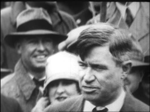 close up mayor will rogers giving speech / beverly hills / newsreel - 1926 stock videos & royalty-free footage