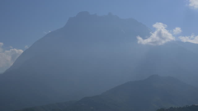 close up mt.kinabalu - mt kinabalu national park stock videos and b-roll footage