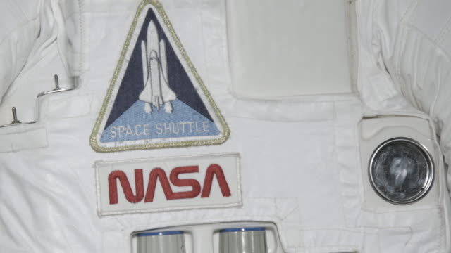 Close up, NASA space shuttle patch