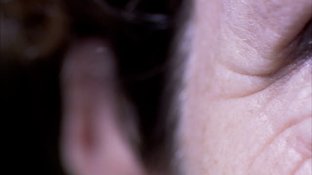 close up of a human eye. available in hd. - wrinkled stock videos and b-roll footage