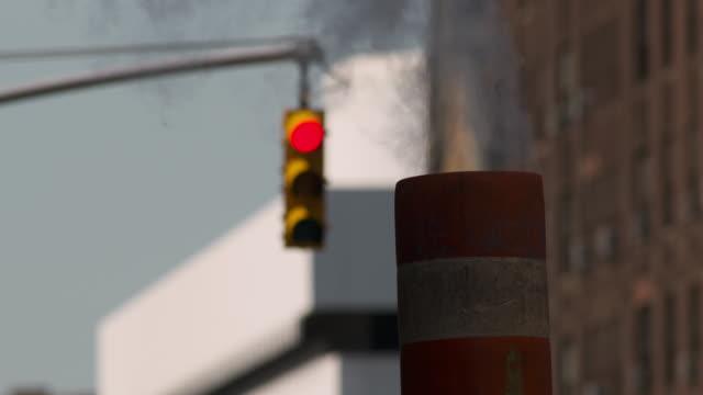 Close Up of a Manhattan Steam Vent