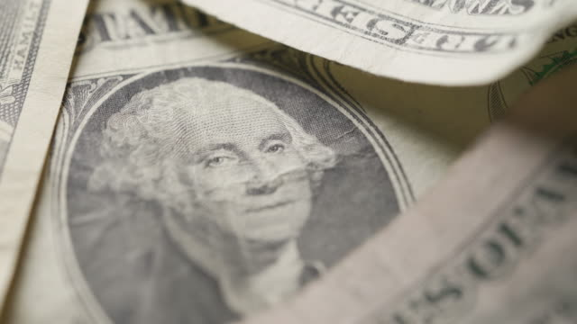 close up of american currency - five us dollar note stock videos & royalty-free footage