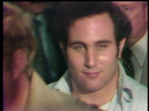 close up of american serial killer david berkowitz who was arrested for murder in nyc in 1977. david richard berkowitz , also known as son of sam and... - msnbc stock videos & royalty-free footage