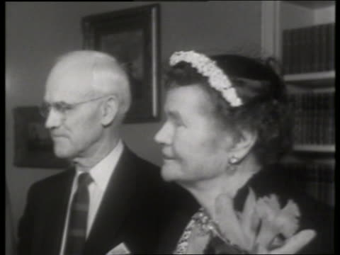 b/w close up of elderly couple / no - mature couple stock videos & royalty-free footage