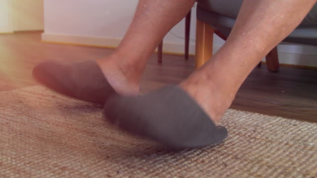 close up of feet tapping to rhythm - rhythm stock videos and b-roll footage
