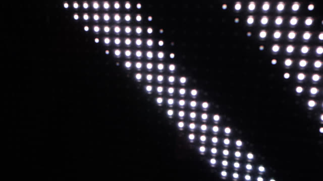 close up of lights creating a wave effect - design stock videos & royalty-free footage