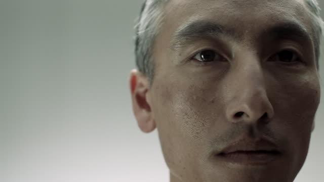 Close up of mature Chinese man