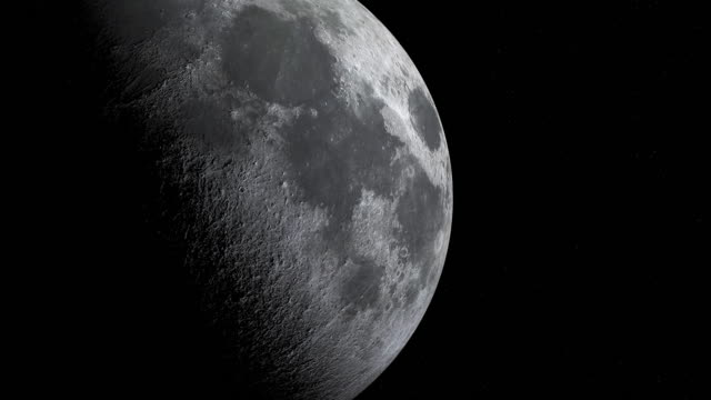 close up of moon cycle or lunar phase animation - moon stock videos & royalty-free footage