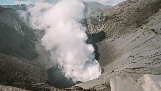 vídeos y material grabado en eventos de stock de cerca del volcán mt.bromo, indonesia. - java