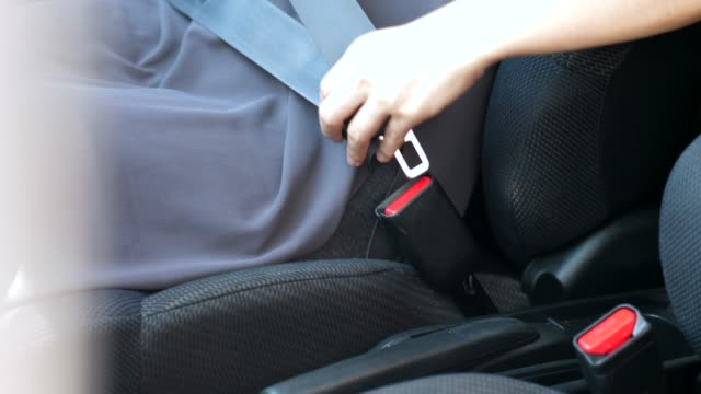 close up of safety belt - seat belt stock videos & royalty-free footage