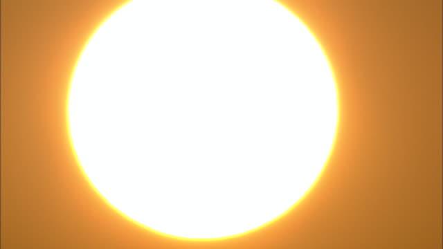 Close Up Of Setting Sun