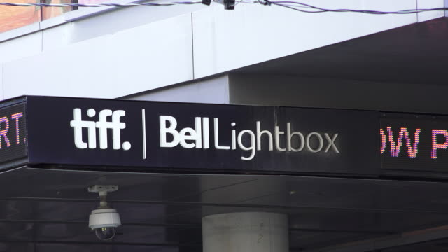 Close up of the TIFF Bell Lightbox in the downtown area The area is famous for hosting the famous Toronto International Film Festival which is a...