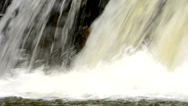 close up of waterfall - flowing water stock videos & royalty-free footage