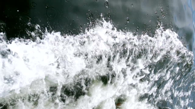 close up of waves - rough stock videos and b-roll footage
