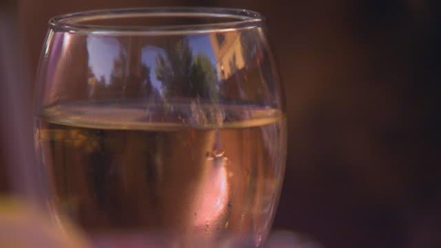 Close Up of Wine