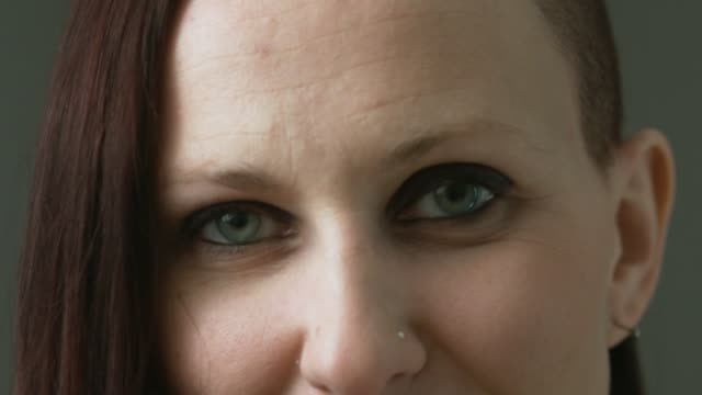 Close up of Woman Looking into the Camera
