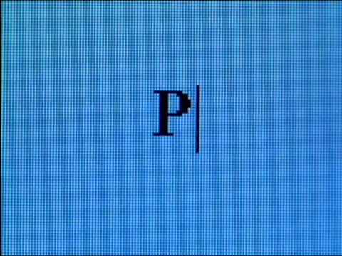 "close up ""prosper"" being typed on computer screen - western script stock videos & royalty-free footage"