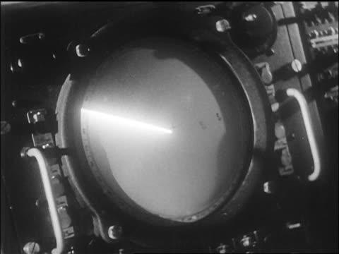 close up radar screen timing yeager's bell x-1 airplane flight / ca / newsreel - radar stock videos & royalty-free footage