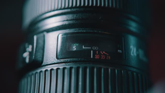 close up shot of a hand adjusting focus on photographic camera lens on november 19 2020, in bristol, united kingdom. - macro stock videos & royalty-free footage