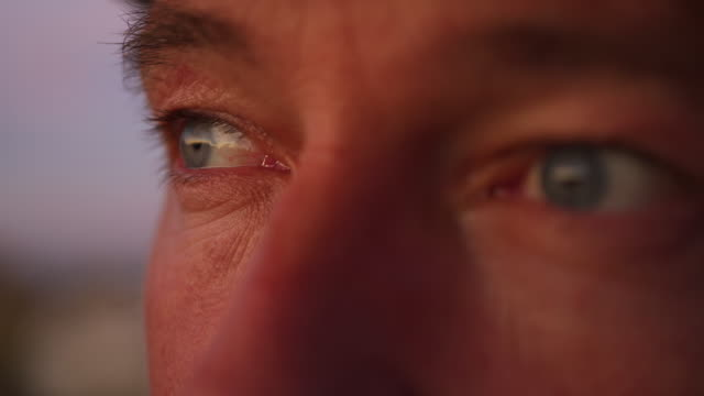 close up shot of a man with hats eyes - eyes closed stock videos & royalty-free footage