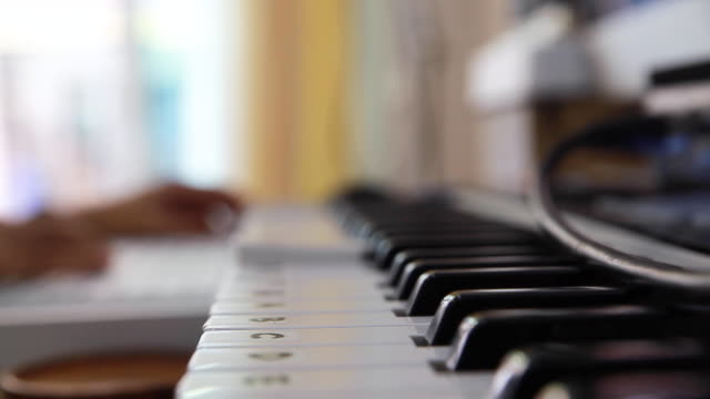 close up shot of composing music - composer stock videos & royalty-free footage
