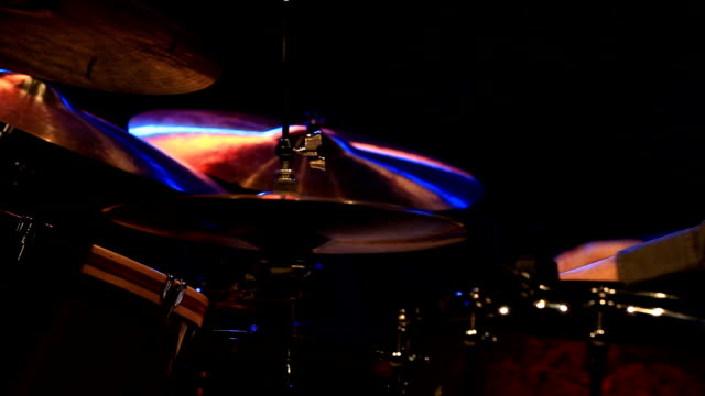 close up shot of musician playing drums - rolled up stock videos & royalty-free footage