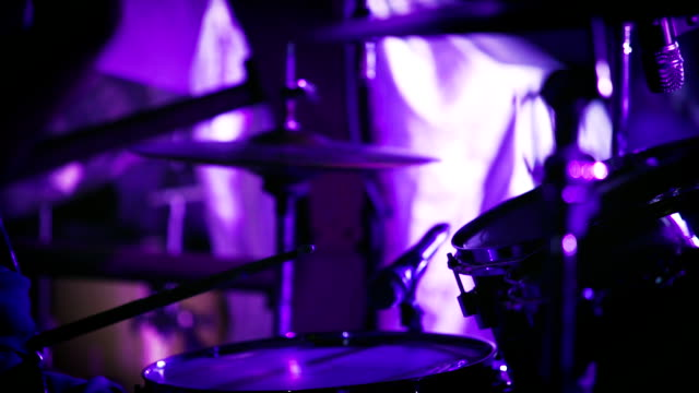 close up shot of musician playing drums - soul music stock videos & royalty-free footage