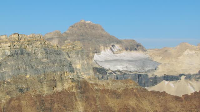 Close Up Shot Of Ridge In Canadian Rockies