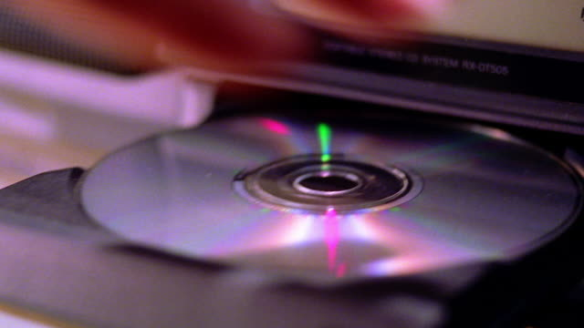close up tray opening from cd player / hand taking cd out of tray - compact disc player stock videos & royalty-free footage