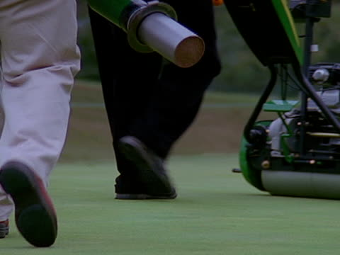 close up - putting green stock videos and b-roll footage