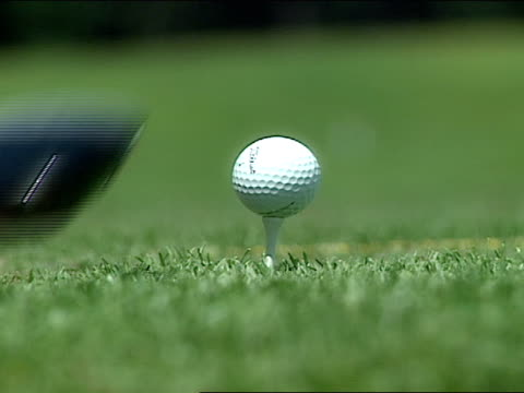 close up - golf ball stock videos & royalty-free footage