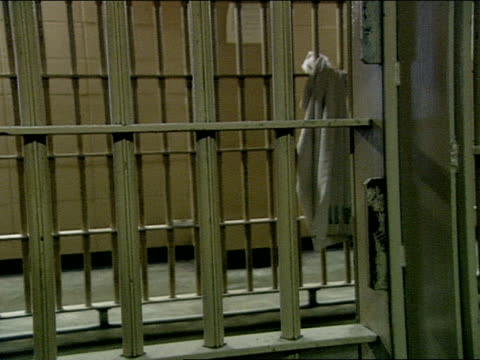 close up - prison cell door stock videos & royalty-free footage