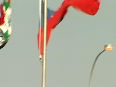 vídeos y material grabado en eventos de stock de close up - bandera de taiwán