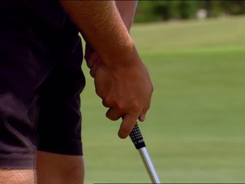 close up - green di golf video stock e b–roll