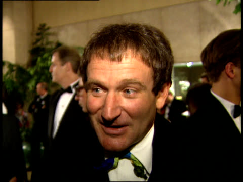 close up - robin williams actor stock videos & royalty-free footage