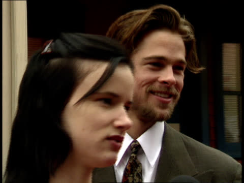 close up - brad pitt actor stock videos & royalty-free footage