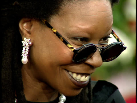 close up - whoopi goldberg stock videos & royalty-free footage