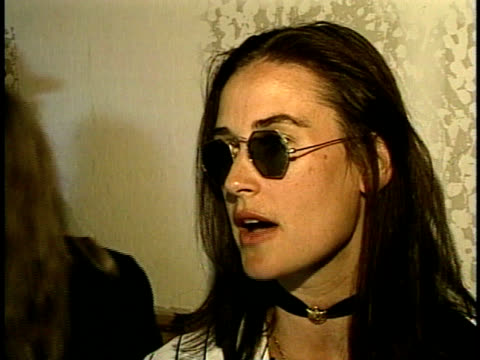 close up - demi moore stock videos & royalty-free footage