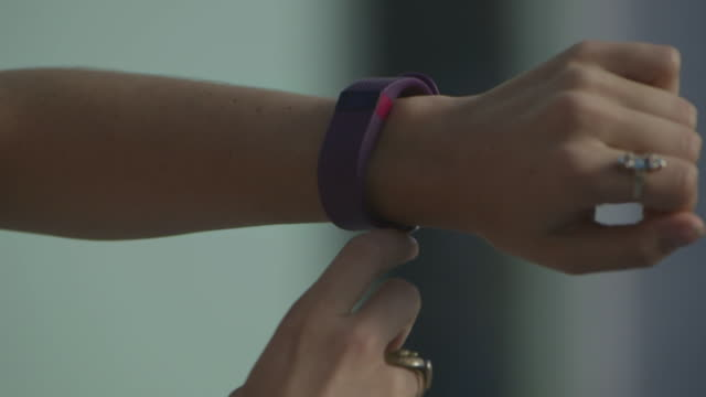 close up wearable technology - arm stock videos & royalty-free footage