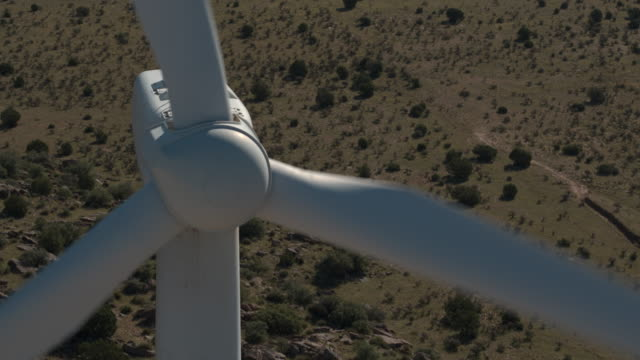 Close Up Wind Turbine 2